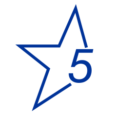 Star Five Program logo