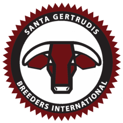Santa Gertrudis Breeders International logo